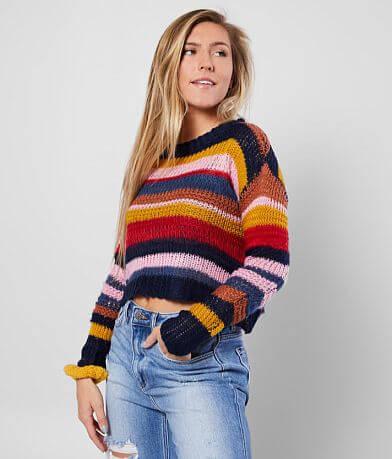 FAVLUX Multi Striped Sweater