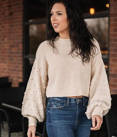FAVLUX Cropped Sweater