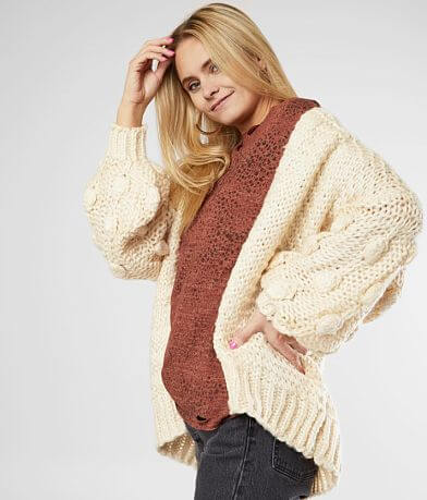 Hyfve Bobble Cardigan Sweater