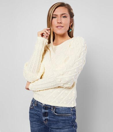 FAVLUX Bobble Pullover Sweater