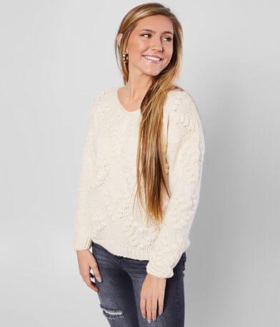 FAVLUX Bobble Heart Sweater