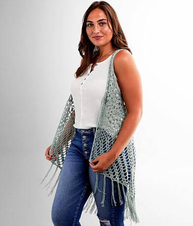 FAVLUX Handmade Crochet Vest