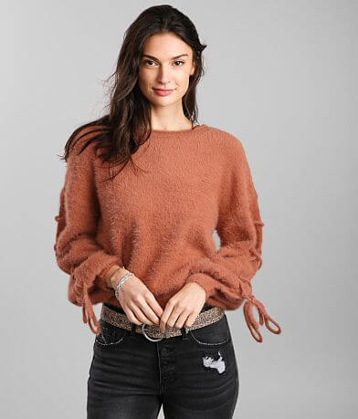 Hyfve Fuzzy Eyelash Sweater