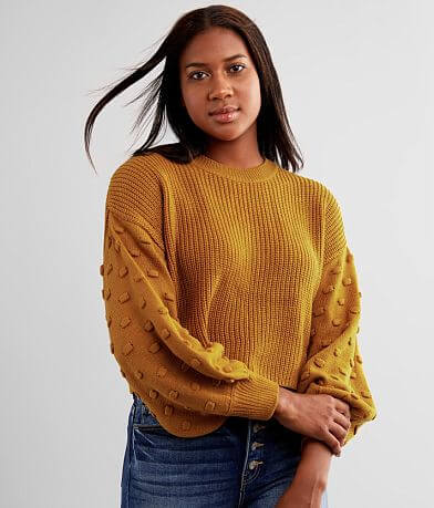Hyfve Bobble Cropped Sweater