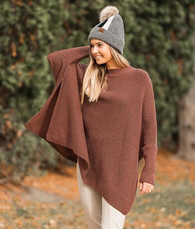 Hyfve Oversized Boxy Dolman Sweater