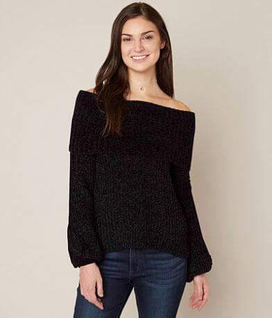onetheland Off The Shoulder Sweater