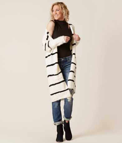 onetheland Striped Cardigan