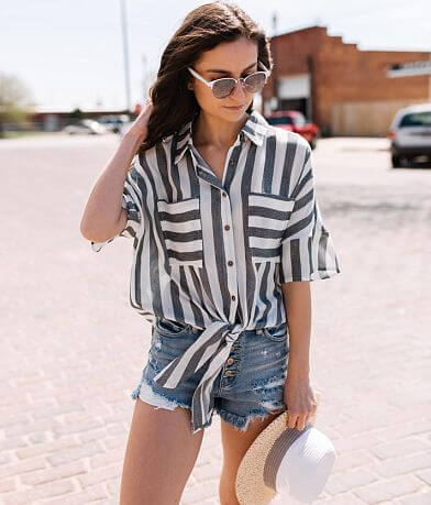 Hyfve Striped Blouse
