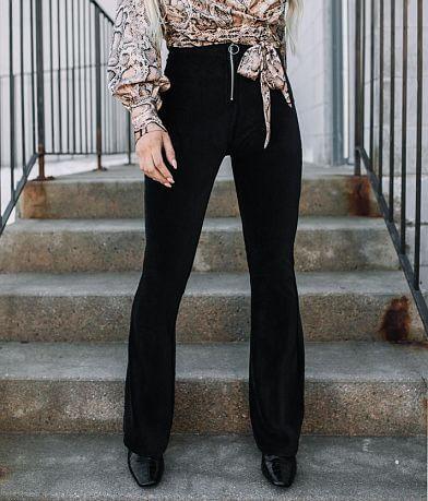 Fashion On Earth Velvet Corduroy Flare Pant