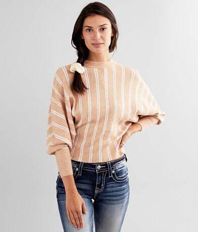 Hyfve Striped Dolman Sweater