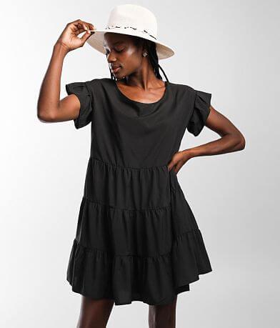 Hyfve Tiered Ruffle Babydoll Dress