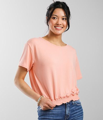 Hyfve Smocked Hem Top