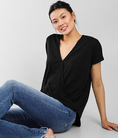 Hyfve Surplice V-Neck Top