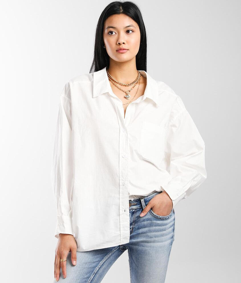 Hyfve Oversized Shirt front view