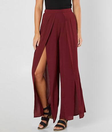 FAVLUX Pleated Wide Leg Pant