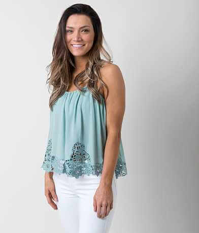 willow & root Crochet Tank Top