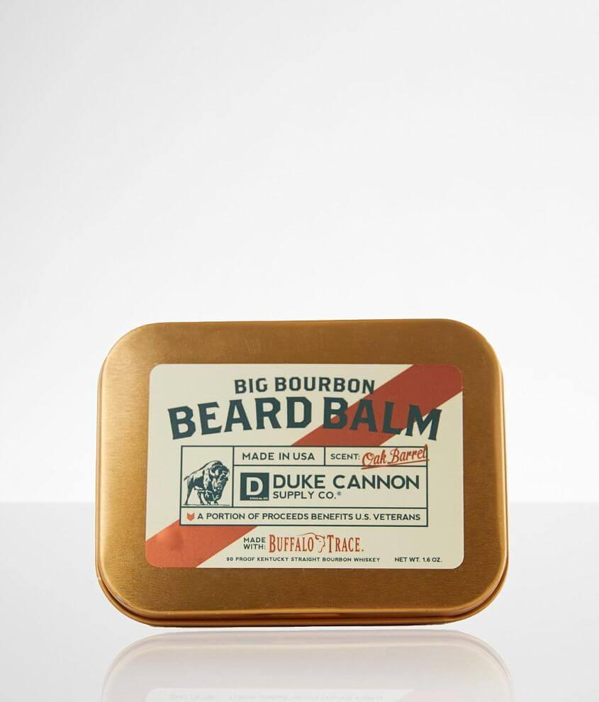Duke Cannon Big Bourbon Beard Balm front view