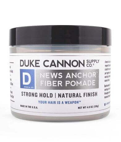 Duke Cannon News Anchor Fiber Hair Pomade