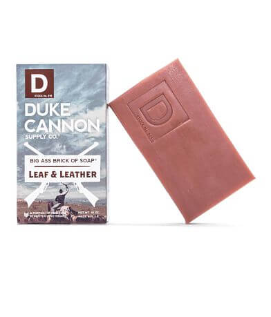 Duke Cannon Leaf & Leather Big Brick of Soap