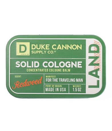 Duke Cannon Redwood Solid Cologne