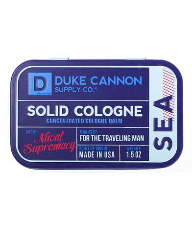 Duke Cannon Naval Supremacy Solid Cologne