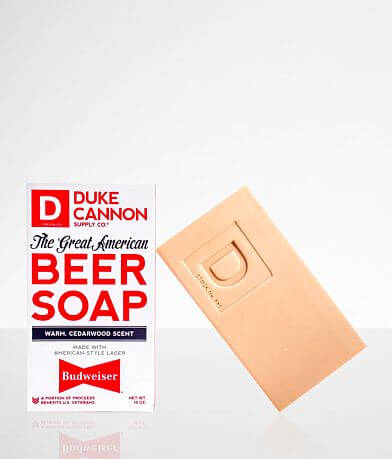 Duke Cannon Budweiser® Big Brick of Soap
