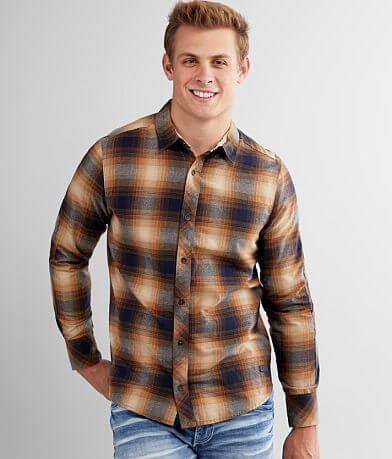 Outpost Makers Ocean-Tech Flannel Shirt
