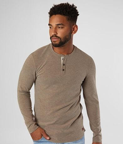 Outpost Makers Brushed Knit Henley