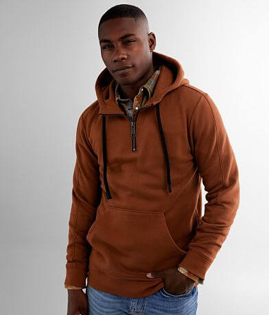 Outpost Makers Quarter Zip Hooded Sweatshirt