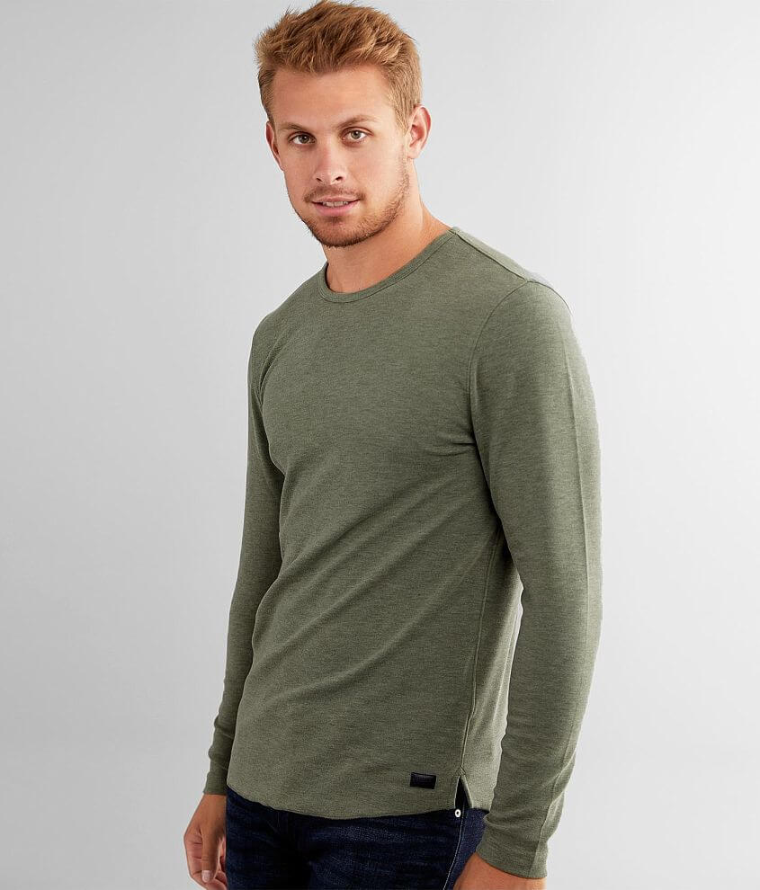 Outpost Makers Heathered Crew Neck T-Shirt front view