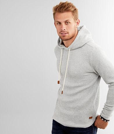 Outpost Makers Waffle Knit Hooded Sweatshirt