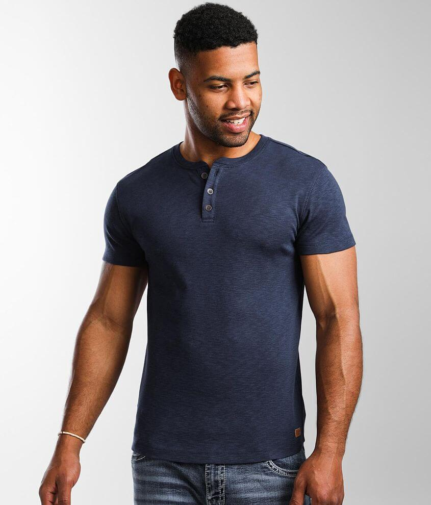 Outpost Makers Slub Knit Henley front view