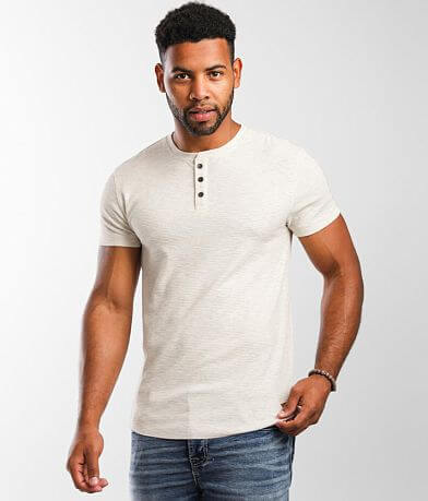 Outpost Makers Textured Knit Henley