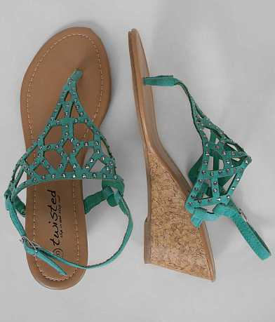 Twisted Riley Sandal