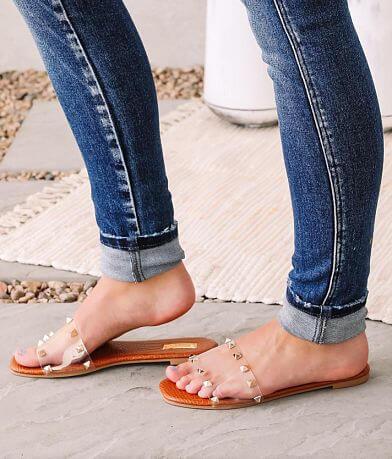 Qupid Hazy Studded Sandal