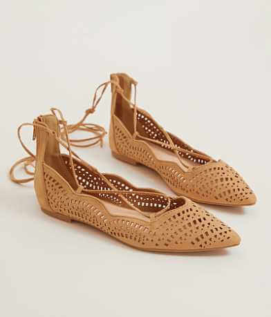 Qupid Perforated Shoe