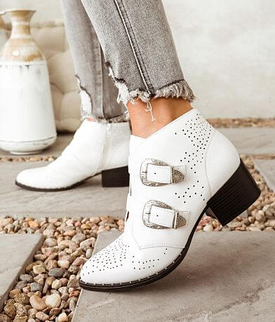 Qupid Wasco Heeled Ankle Boot