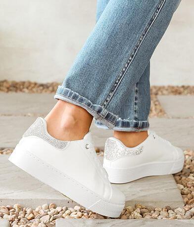 Qupid Willis Rhinestone Platform Sneaker