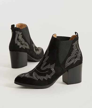 Solely Black by BKE Wilson Ankle Boot