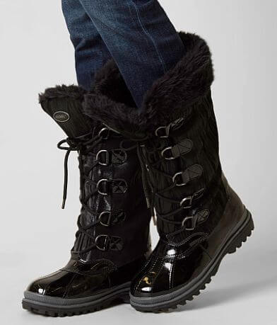 Khombu Brenda Leather Boot