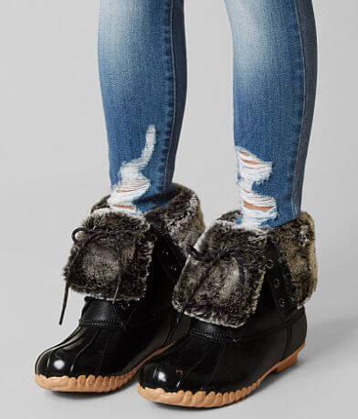 Sporto Delinda Leather Duck Boot