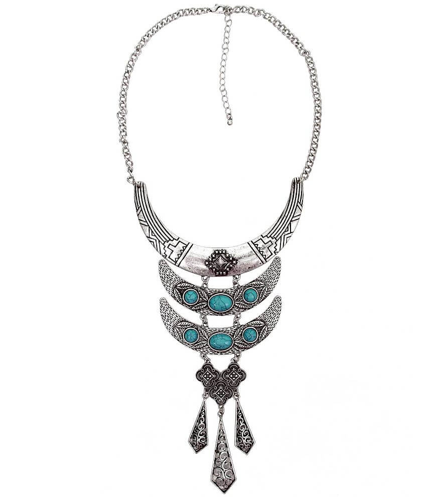 BKE Stone Necklace front view