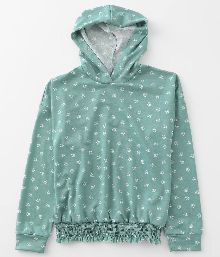 Girls - Daytrip Floral Hoodie front view