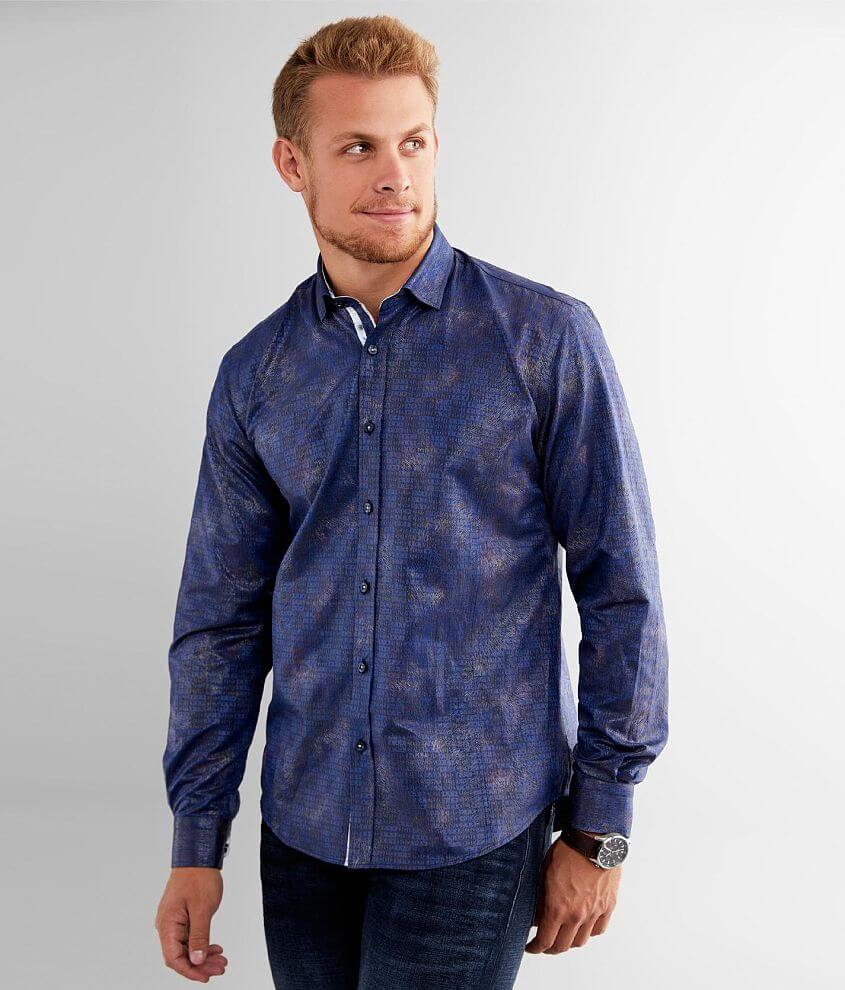 Eight X Foiled Burst Shirt front view