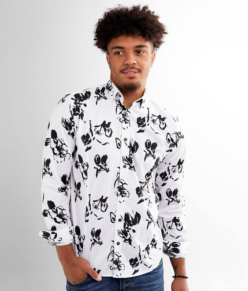 Eight X Abstract Shirt front view