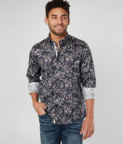 Eight X Floral Woven Shirt
