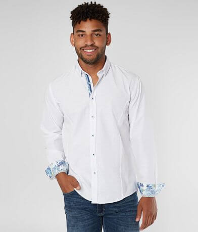 Eight X Tonal Jacquard Shirt