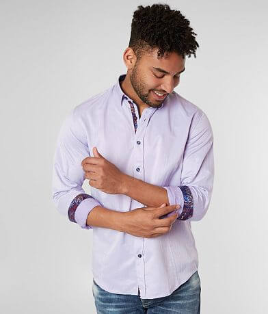 Eight X Solid Woven Shirt