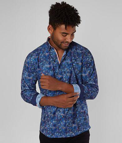 Eight X Flocked Spiral Shirt