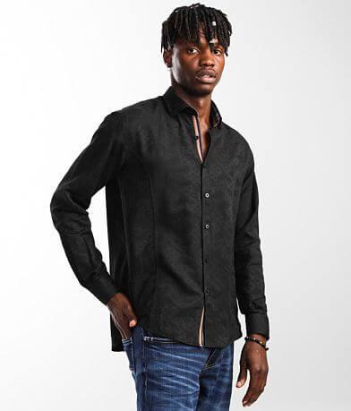 Eight X Tonal Jacquard Shirt